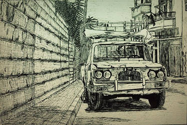 Ink illustration (1) by Zockintosh