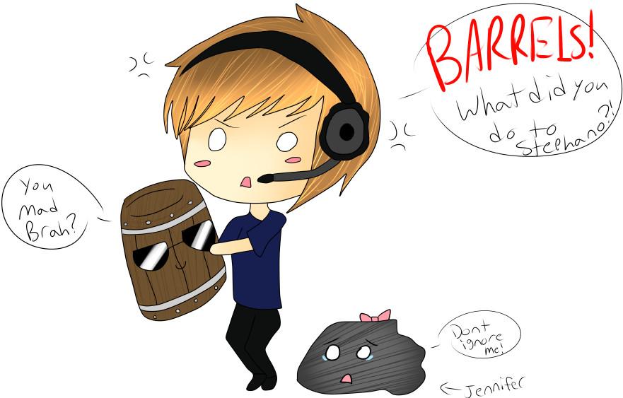 BARRELS!!!! by Kitsuna020