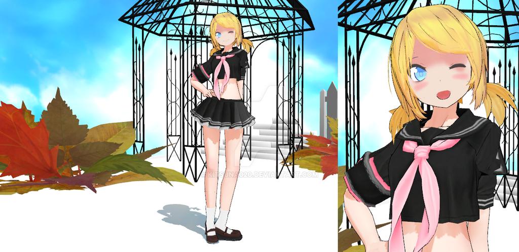 Daisy - School Girl Outfit by Kitsuna020