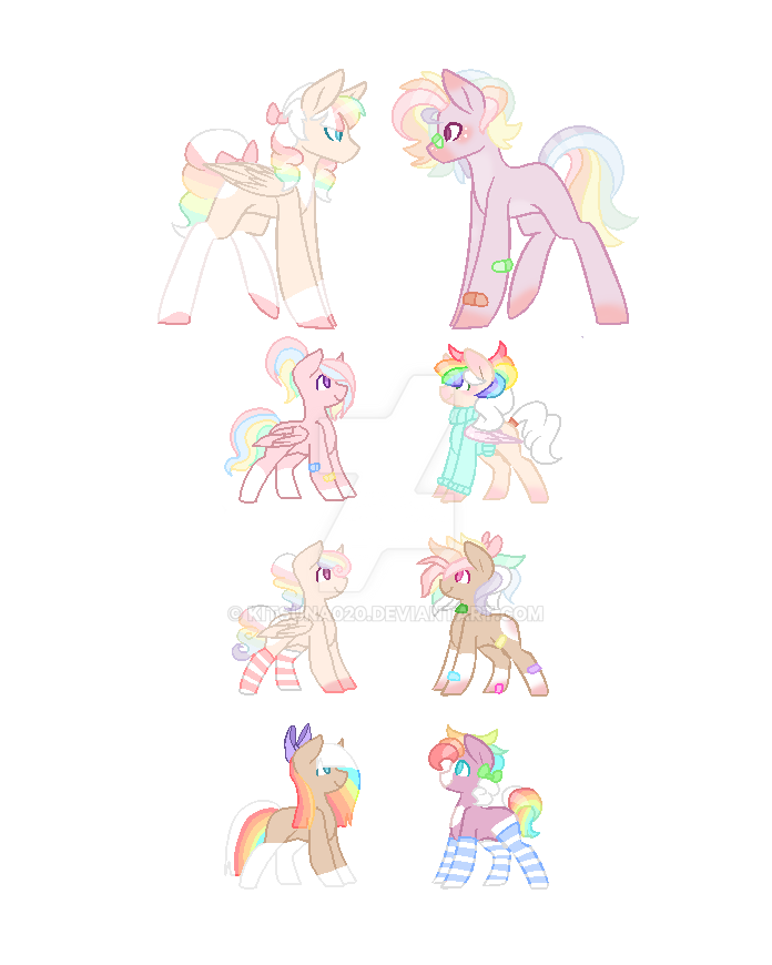 [REDUCED]MLP Breeding Collab w/ Dicerxll2 5/6 OPEN by Kitsuna020