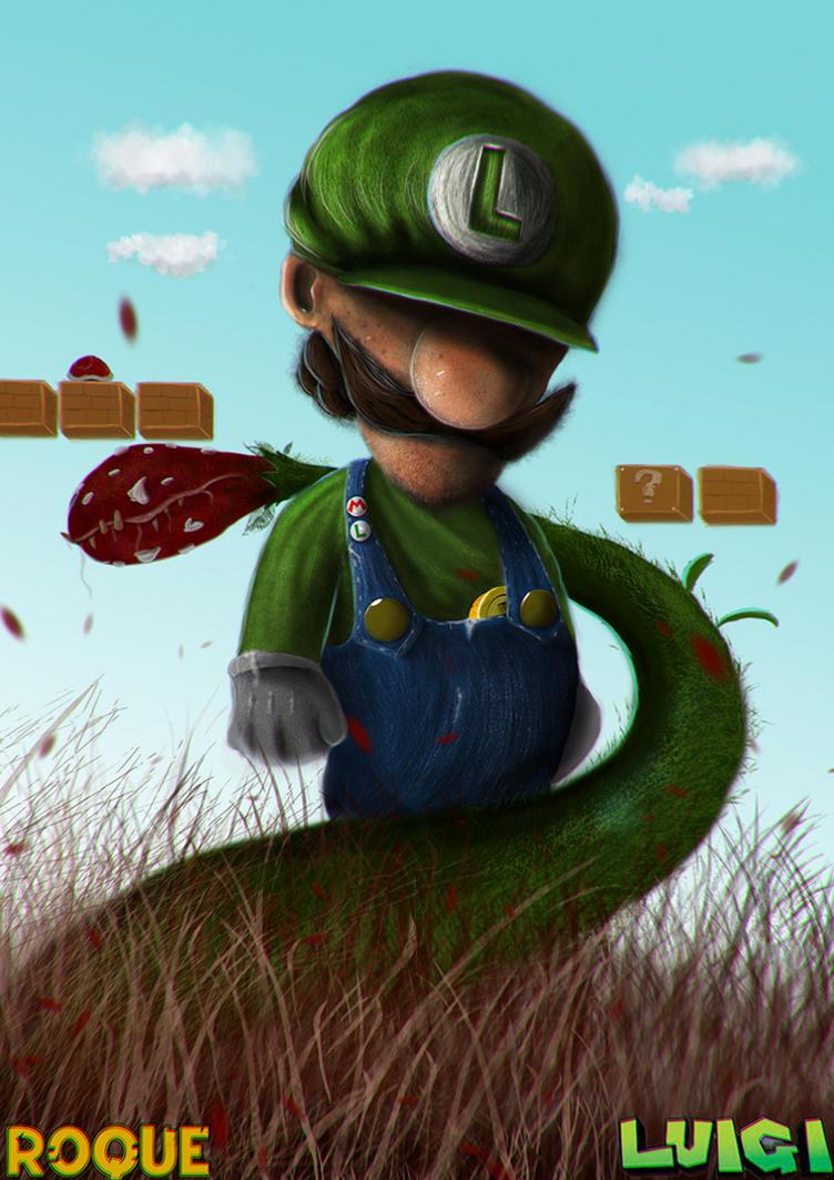 Luigi by RoqueRobinArt