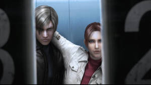 Leon S. Kennedy and Claire Redfield
