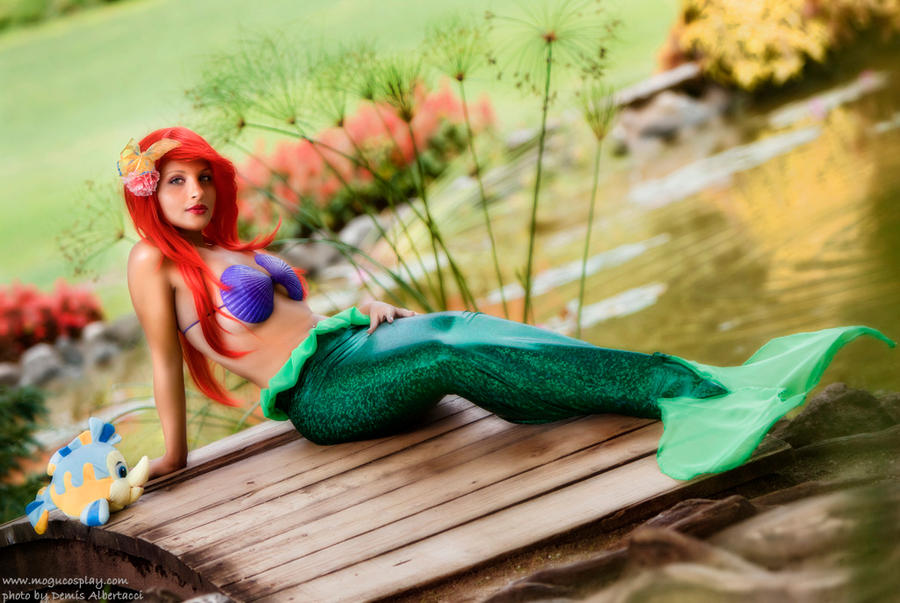 Ariel-The Little Mermaid by drummerina