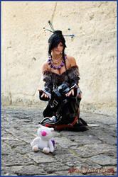Lulu from Final Fantasy X by MoguCosplay