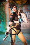 Tracer from Overwatch by MoguCosplay