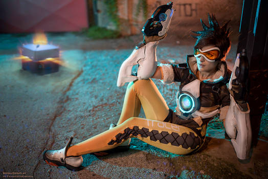 Cavalry is here! - Tracer from Overwatch