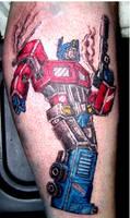 optimus prime tattoo