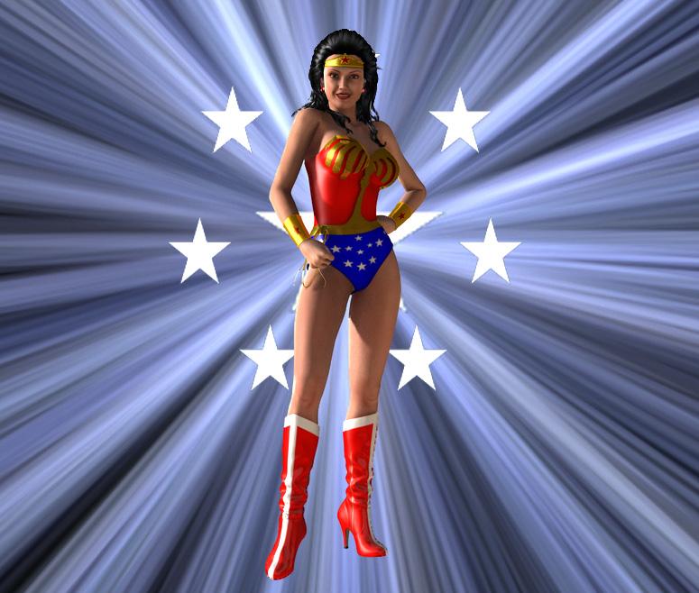 You are a wonder, Wonder Woman... by kevmann