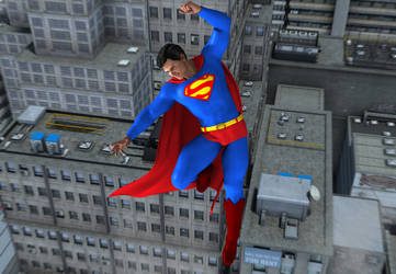 Super Friends 2: Superman by kevmann
