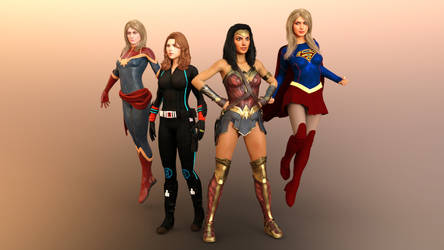 The World's Mightiest Heroines
