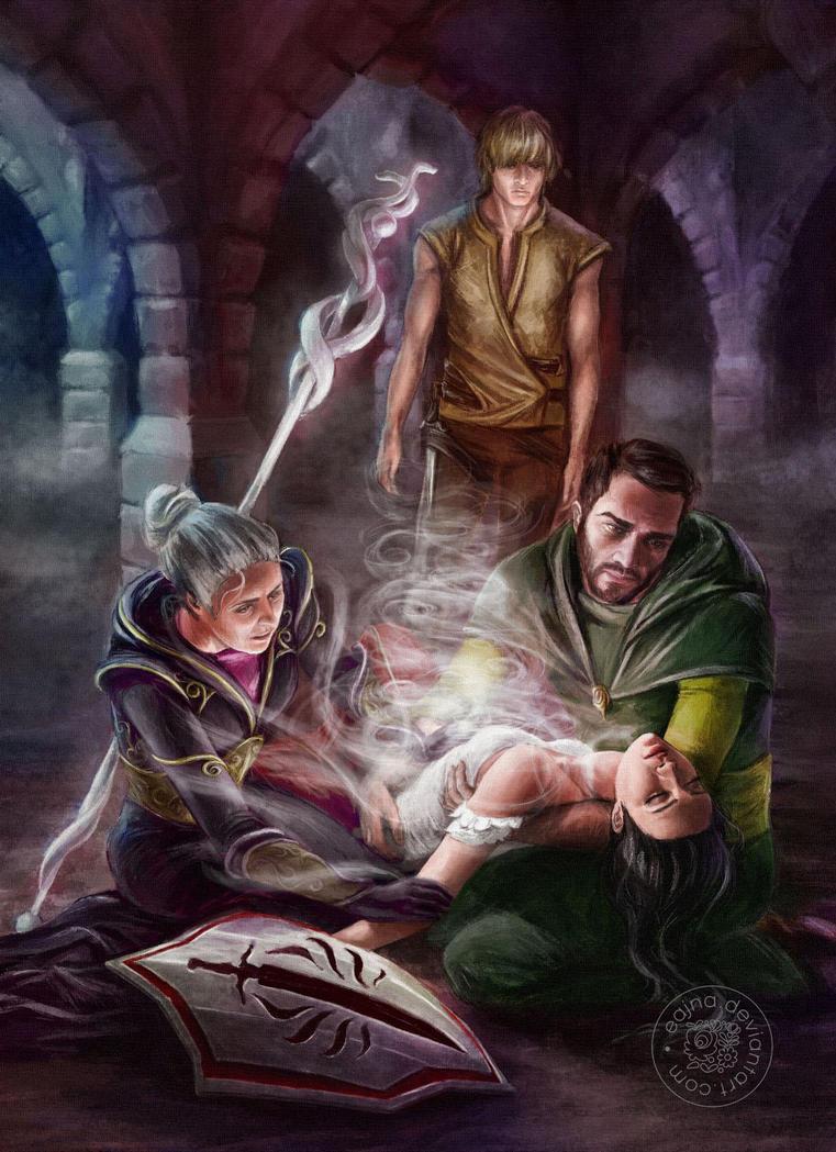 Dragon Age: Asunder by eajna
