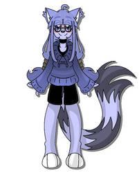 Azul the cat(Bio added) by AlexaHoff