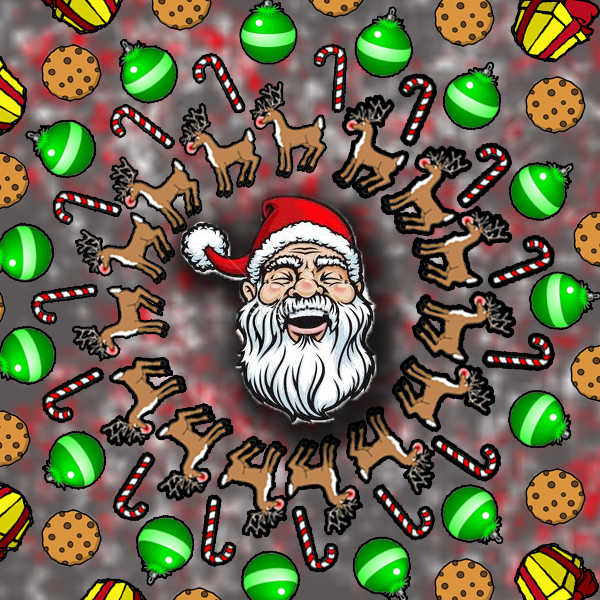 Trippy Christmas by redzonefresh on DeviantArt