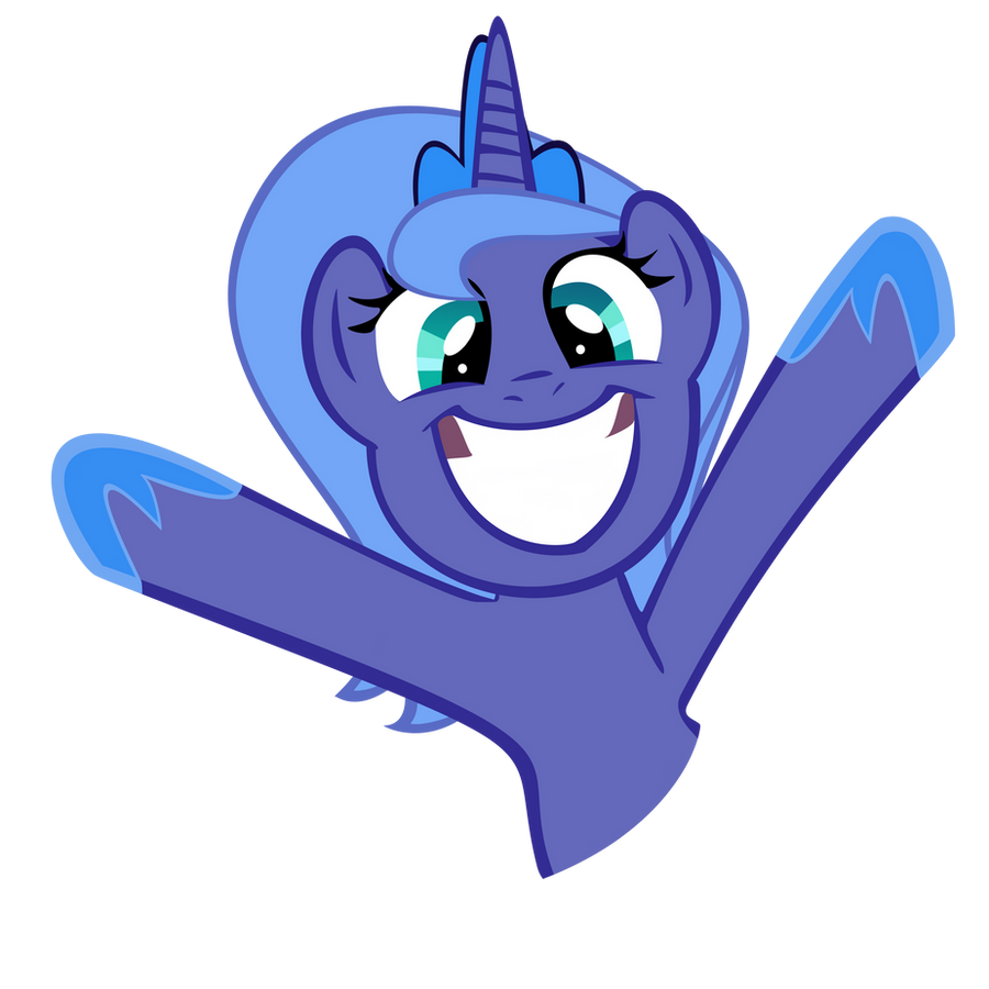 Luna S1 cheer by PartTimeBrony
