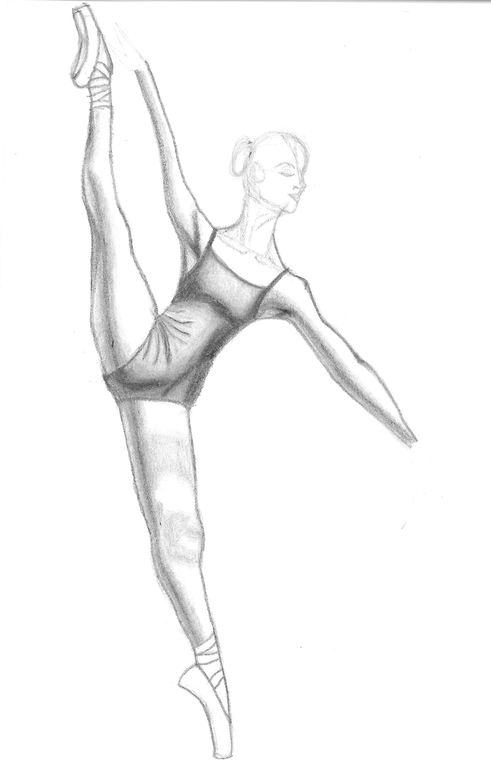 Uncategorized Drawing Of Ballerina ballerina drawing practice by duckydoesart on deviantart duckydoesart