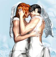 Wedding Reception, part one by Soviet-Superwoman