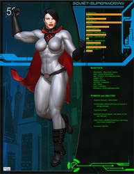 O52 File - Soviet Superwoman by Soviet-Superwoman