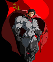 Soviet Superwoman in MS Paint