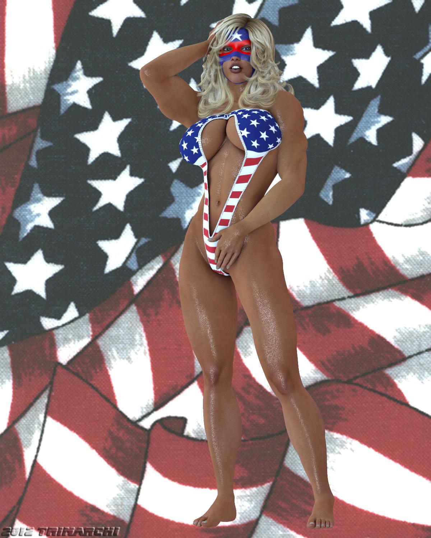 Midnight Queen: American Hero by Soviet-Superwoman