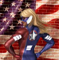 American Hero Reference Sheet by Soviet-Superwoman