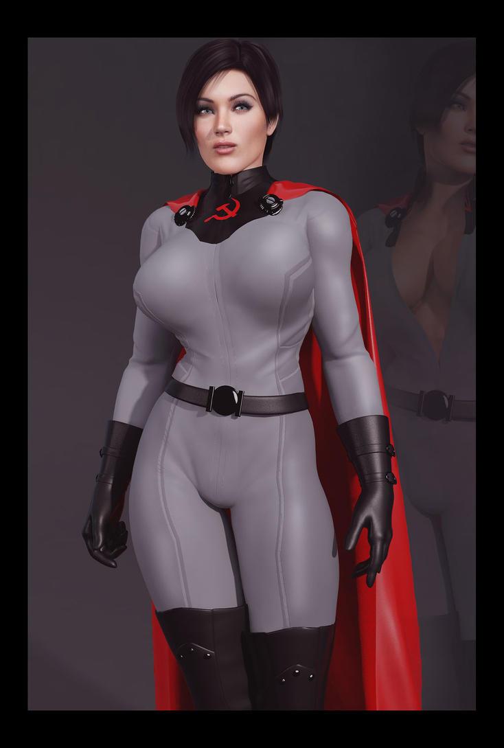 Soviet Superwoman by Artdude41 by Soviet-Superwoman