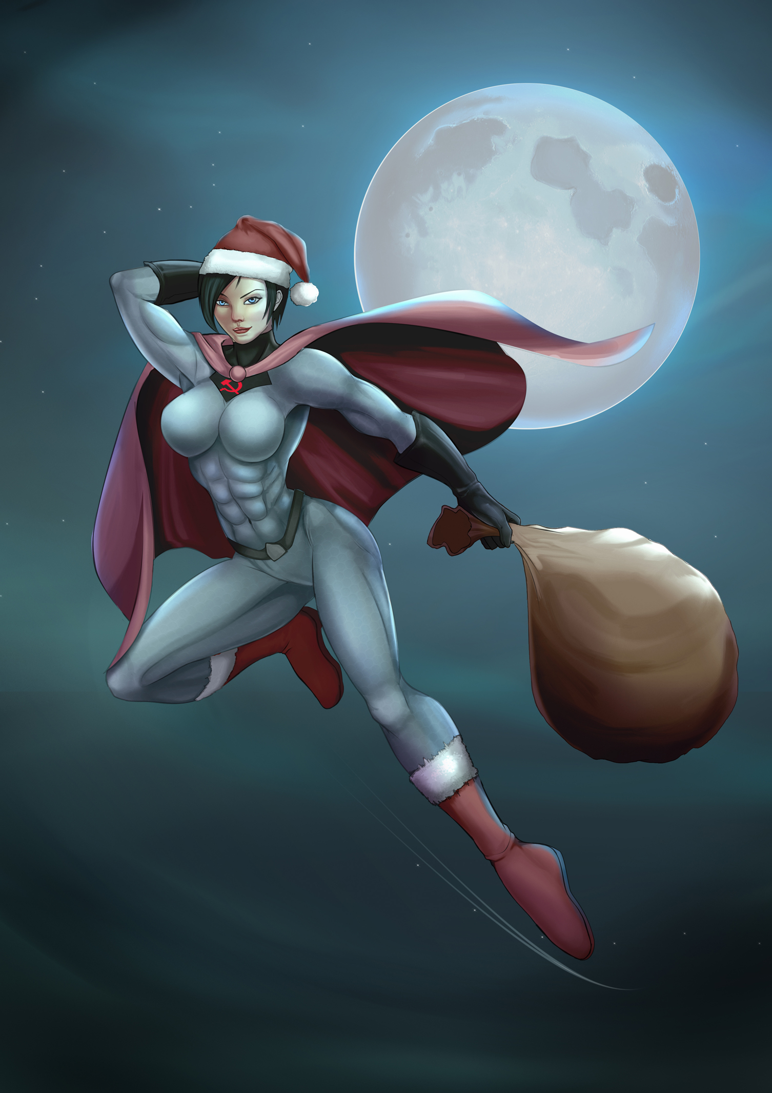 Santa's Soviet Helper by Soviet-Superwoman