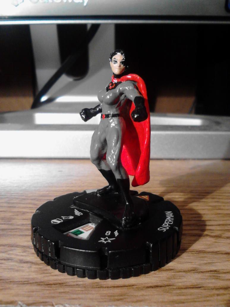 Soviet Superwoman Heroclix by Soviet-Superwoman