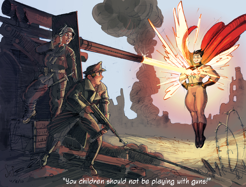 SSW vs Hitlerjugend part 1 by Soviet-Superwoman