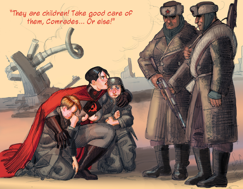 SSW vs Hitlerjugend part 2 by Soviet-Superwoman