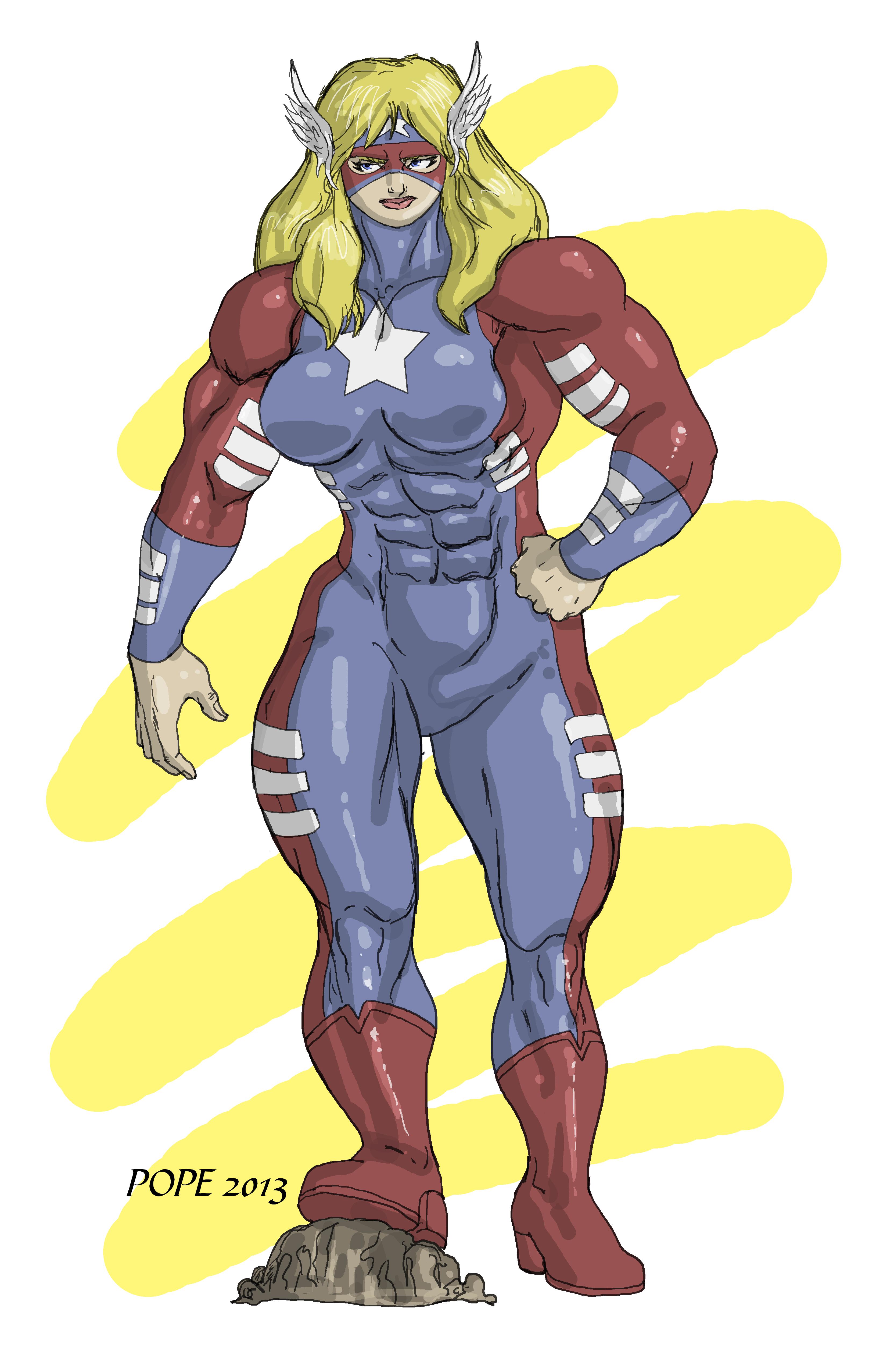 American Hero II by HulkdaddyG by Soviet-Superwoman