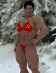 Soviet Superwoman by DerpyBadger