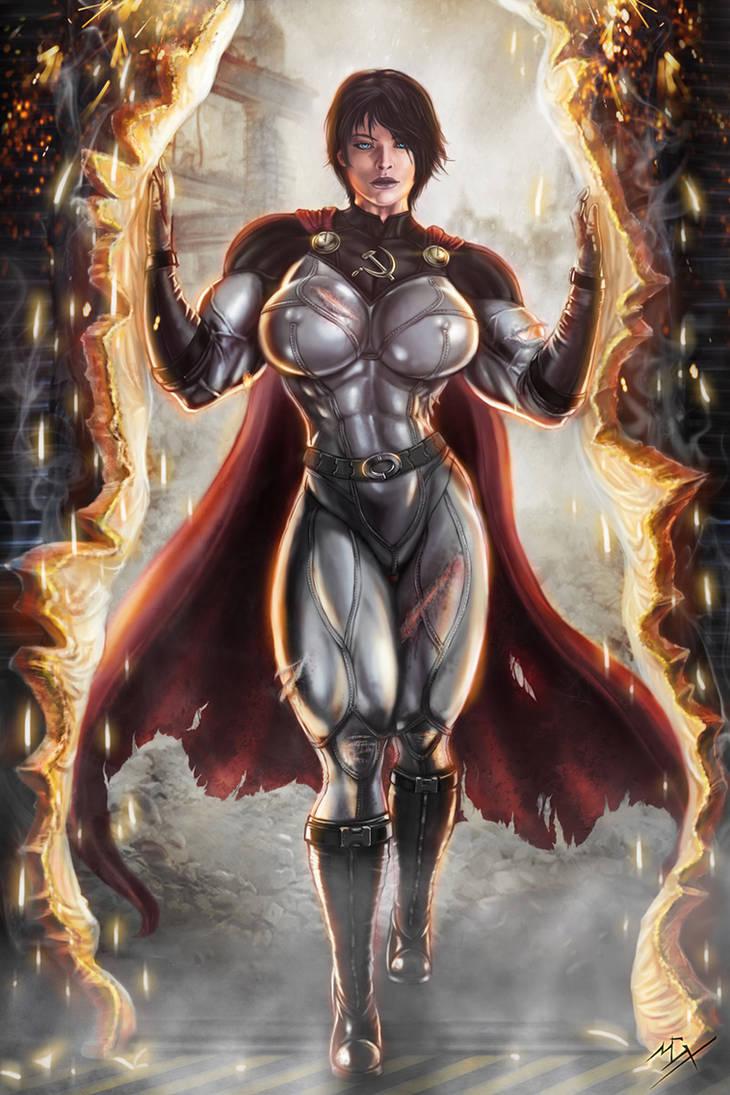 Soviet Superwoman, Rekindler of Hope by Soviet-Superwoman