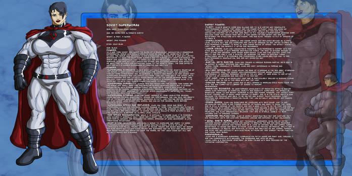 Definitive Soviet Superwoman