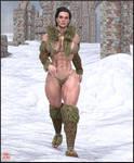 Soviet Superwoman in the Auraverse