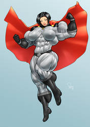 The Soviet Super-Patriot by Soviet-Superwoman