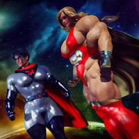Soviet Superwoman and Ultra-Girl! by Soviet-Superwoman