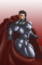 Soviet Superwoman Feeling Cheeky by Soviet-Superwoman