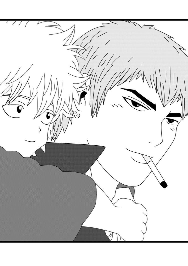 Gintoki.Onizuka by NeeJaT