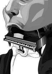 Piano Mouth by NivRozs
