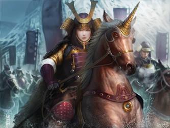Unicorn Legend of five rings by LASAHIDO