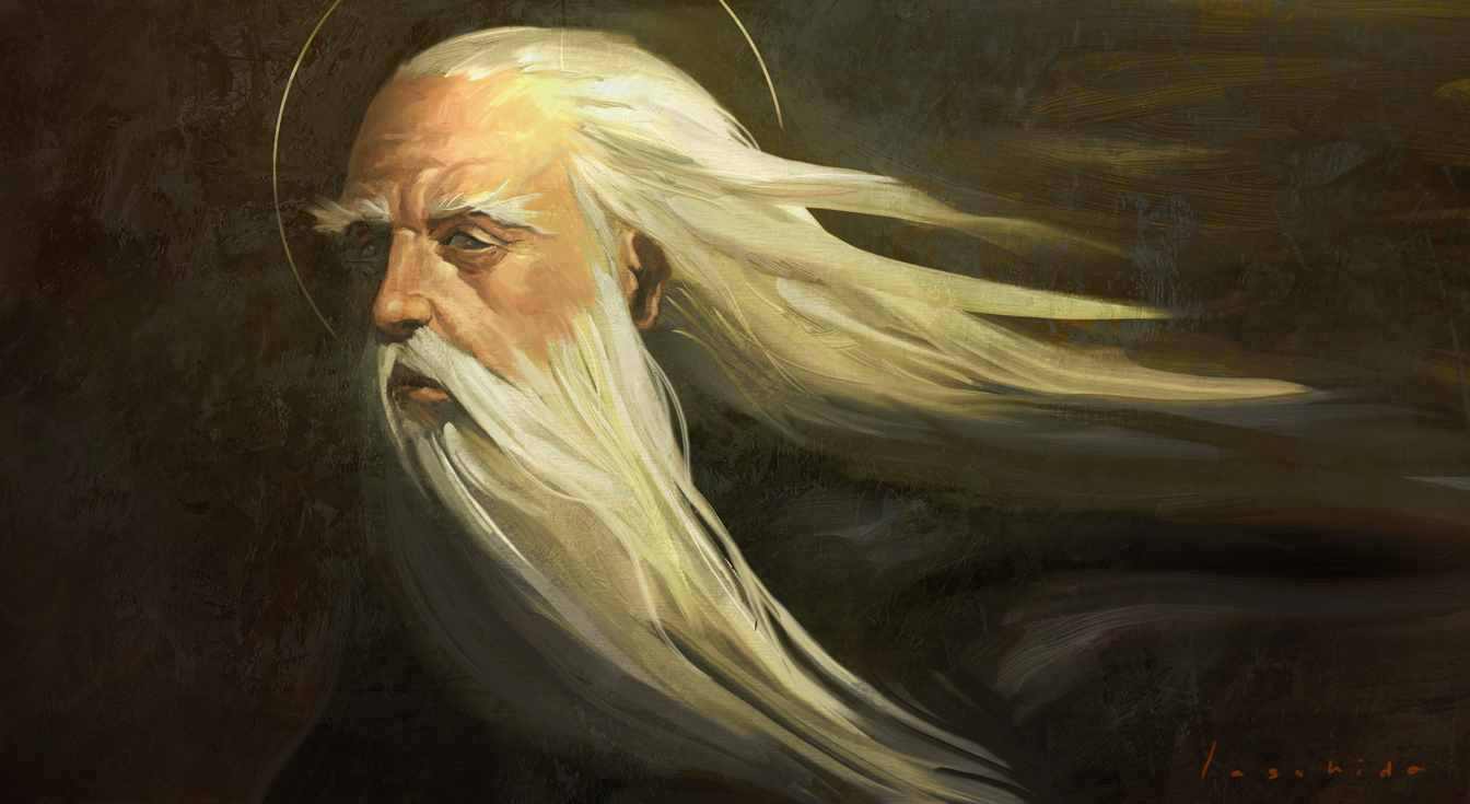 gandalf portrait by LASAHIDO