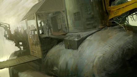 Cowboy steampunk by LASAHIDO