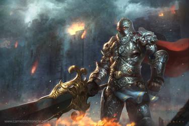 Knight by LASAHIDO