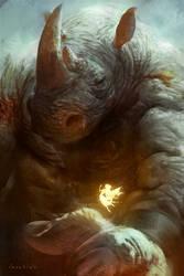 Beauty and the beast by LASAHIDO