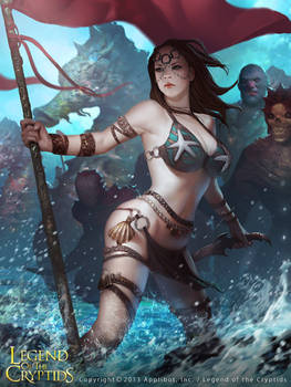Female Fighter of The Sea