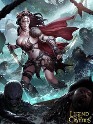 Female Fighter of The Sea Advance by LASAHIDO