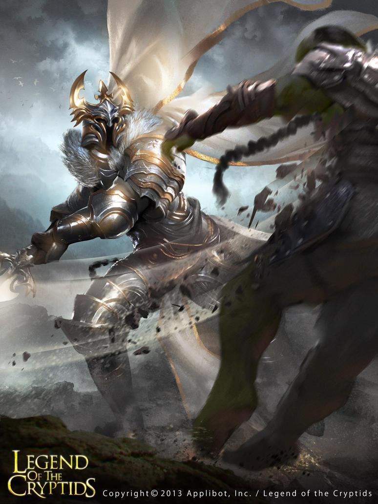 White Knight by LASAHIDO