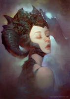 Dragon Lady by LASAHIDO