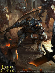 Nameless warrior brute by LASAHIDO