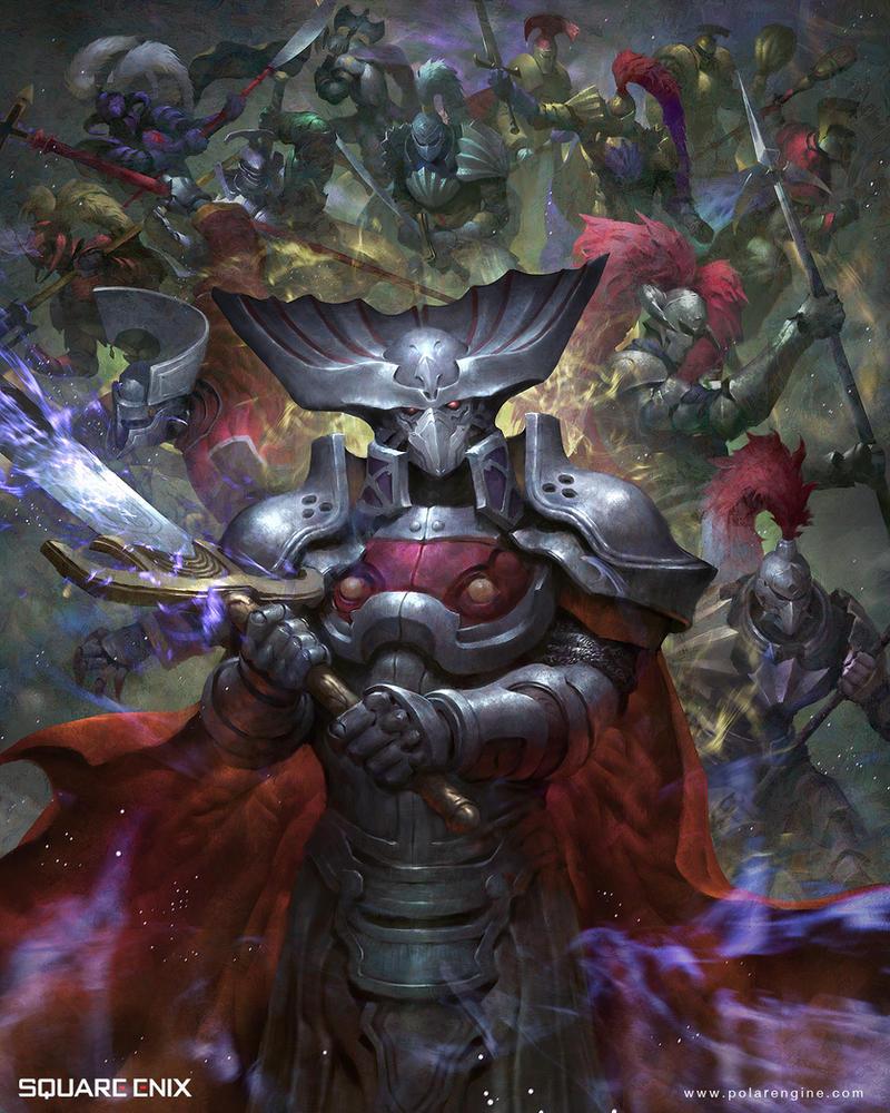 Knight Of The Round by LASAHIDO